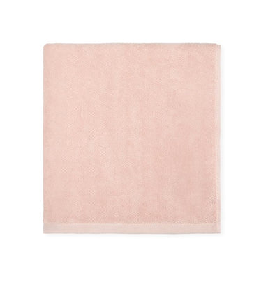 Blush pink bath towel set - Canedo by Sferra - Fig Linens