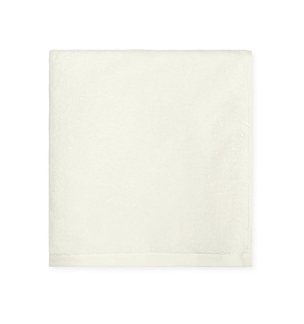 Ivory bath towels -  Cotton - Canedo Ivory by Sferra - Fig Linens