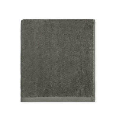 Pewter gray bath towel collection - Canedo bath linen by Sferra - Fig Linens