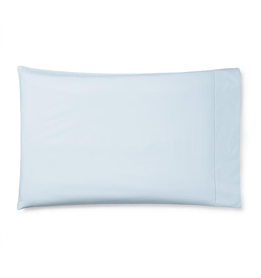 Celeste Sheeting by Sferra | Fig Linens - Pillowcase blue