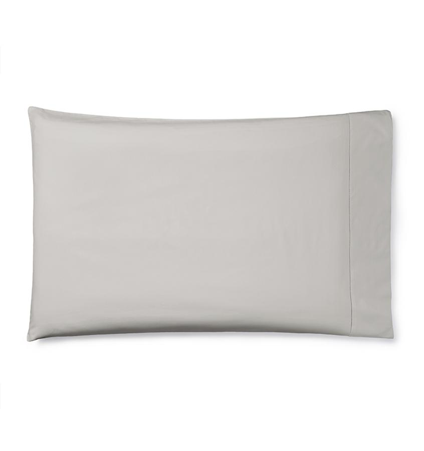 Celeste Sheeting by Sferra | Fig Linens - Pillowcase gray