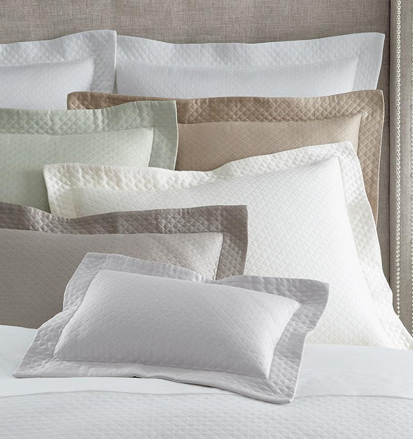 Fig Linens - Bari Coverlets and Shams by Sferra - Shams