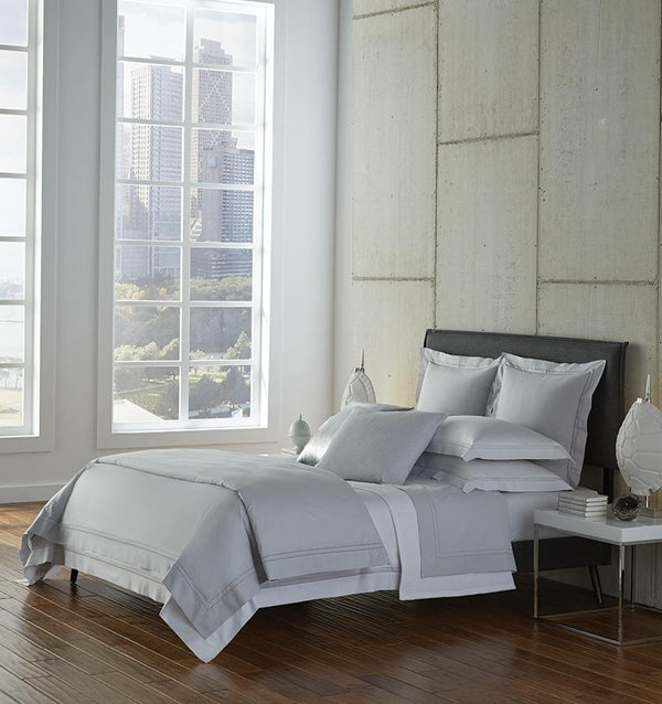 Finna Celery Bedding Collection by Sferra | Fig Linens
