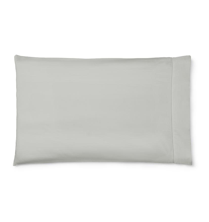 Sfrerra Bedding | Fiona Sheeting and Cases | Fig Linens - Gray pillowcase