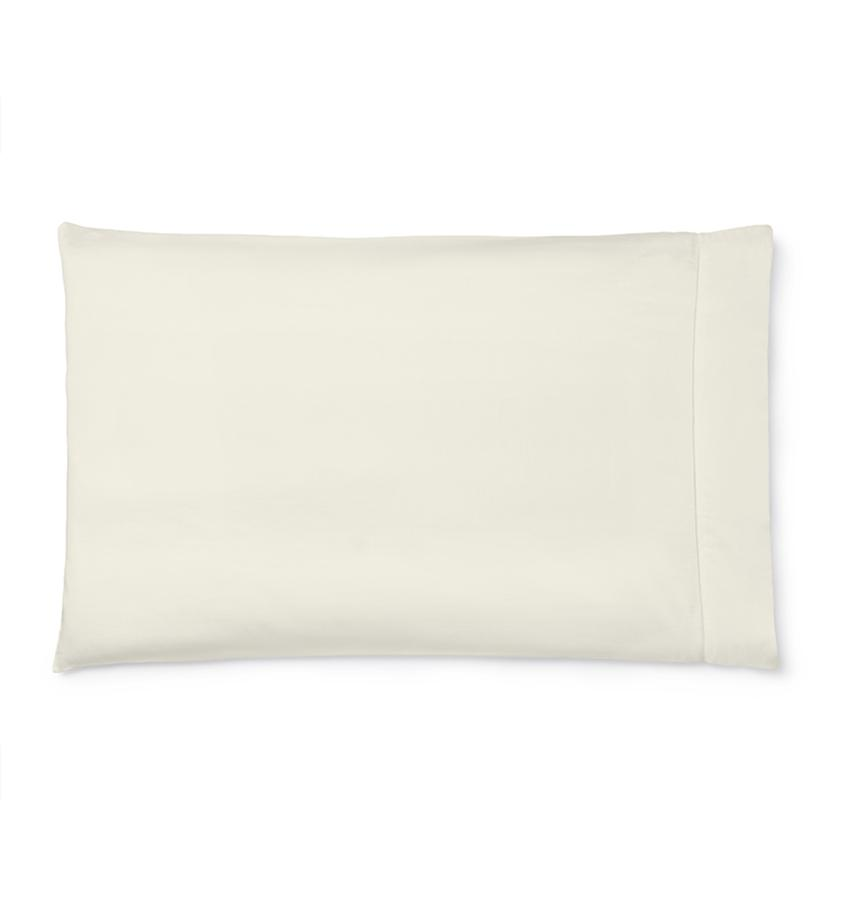 Sfrerra Bedding | Fiona Sheeting and Cases | Fig Linens - Ivory pillowcase
