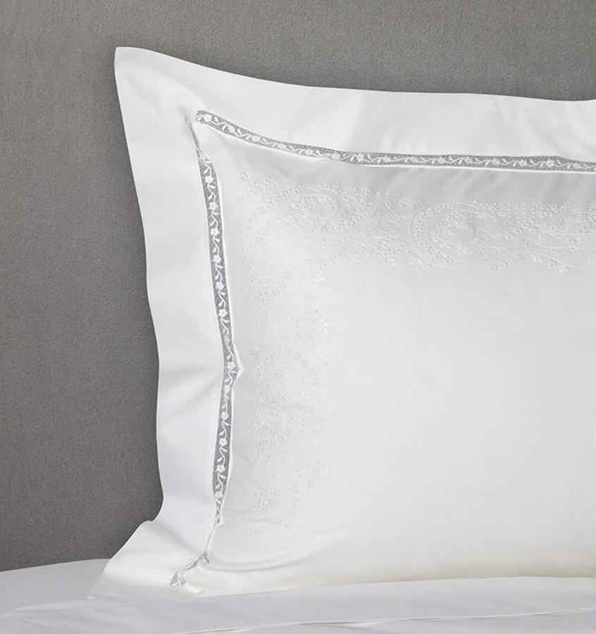 Francesca Bedding Collection by Sferra | Fig Linens - White sham