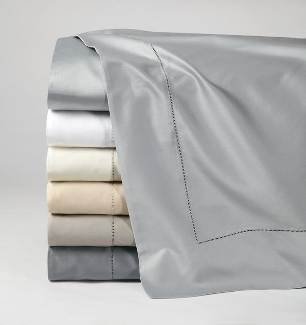 Fig Linens - Giotto Collection Sheeting by Sferra - Flat Sheets