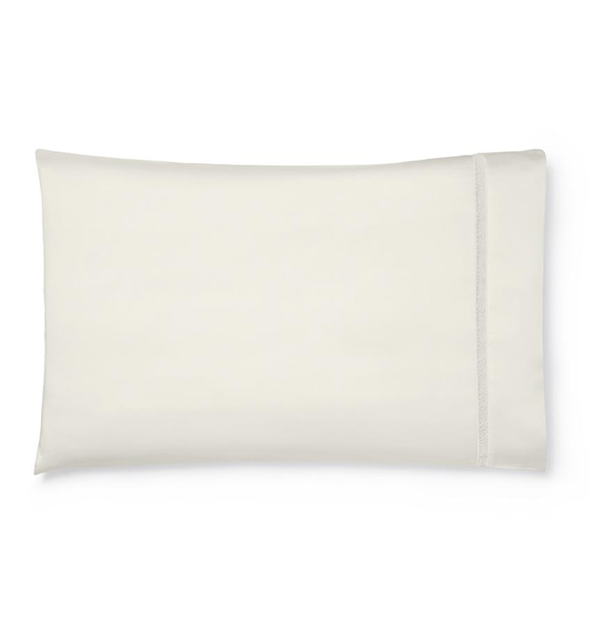 Fig Linens - Giza 45 - Trina Collection by Sferra - Ivory pillowcase