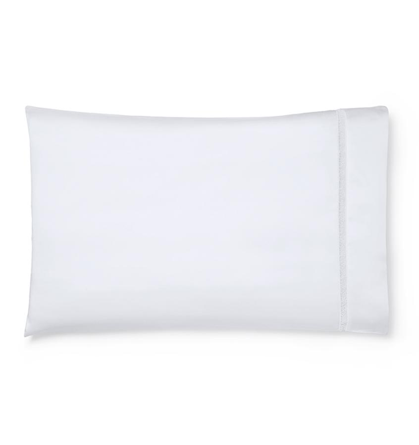 Fig Linens - Giza 45 - Trina Collection by Sferra - White pillowcase
