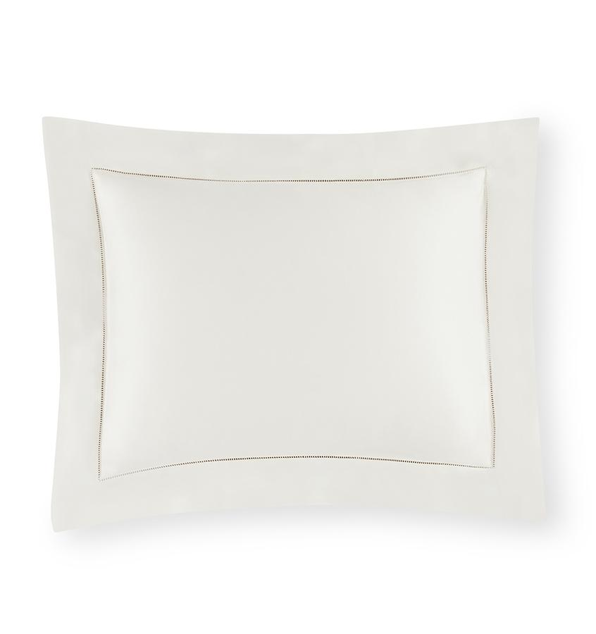 Sferra Giza 45 - Sateen Bedding Collection | Fig Linens - Ivory sham