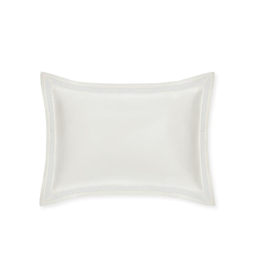 Fig Linens - Giza 45 - Trina Collection by Sferra - Ivory sham