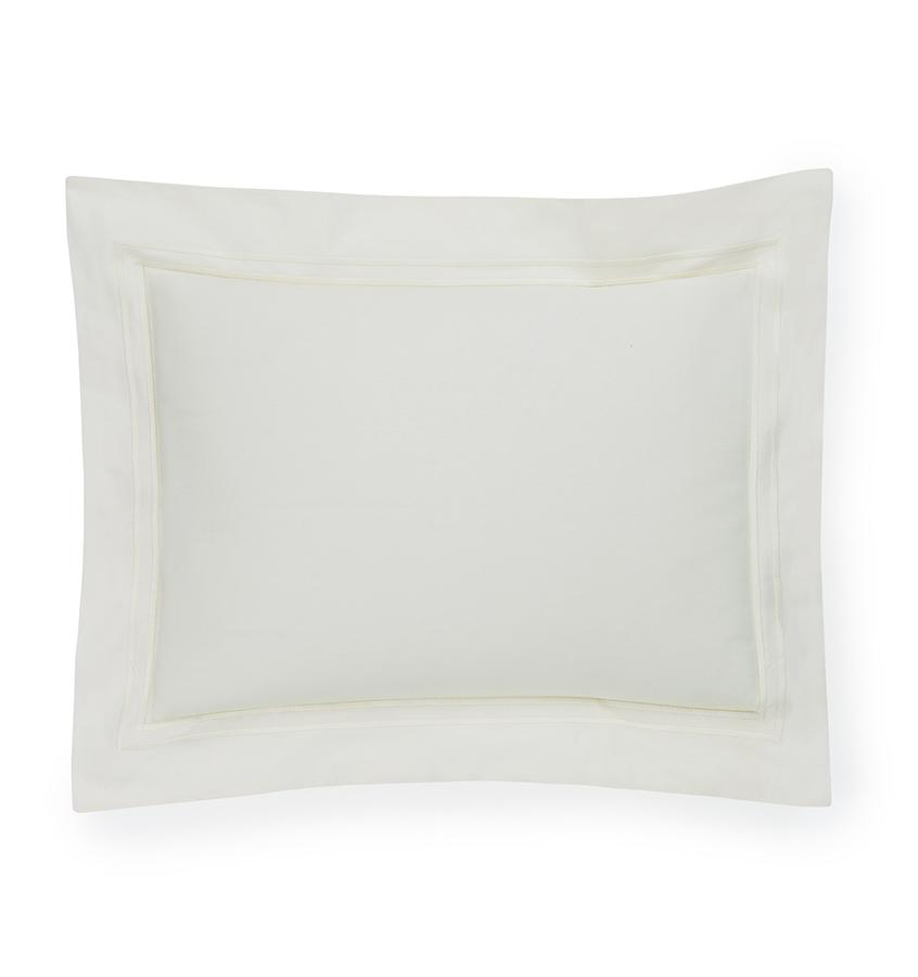 Fig Linens - Sferra Bedding - Grand Hotel Ivory Sham