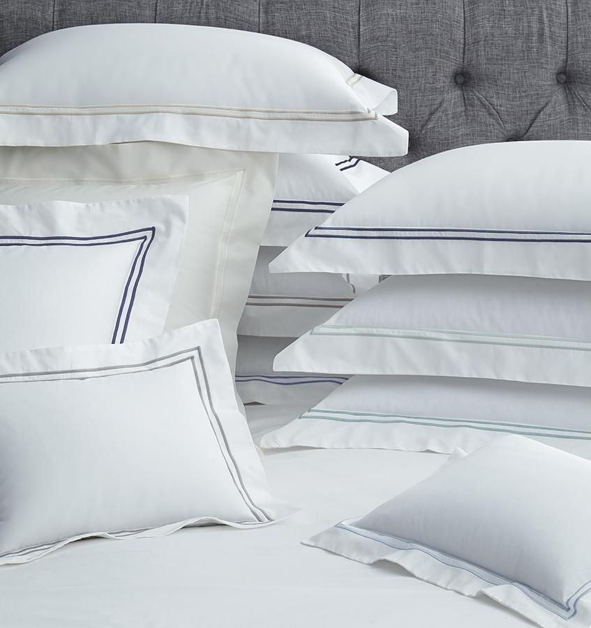 Fig Linens - Sferra Bedding - Grand Hotel Shams