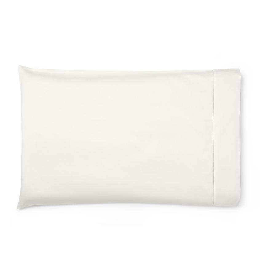 Fig Linens - Savio Bedding by Sferra - Ivory pillowcase