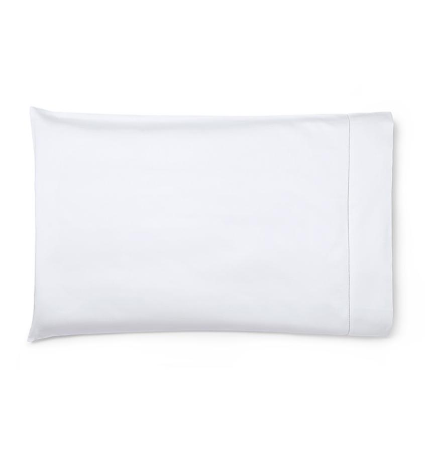 Fig Linens - Savio Bedding by Sferra - White pillowcase