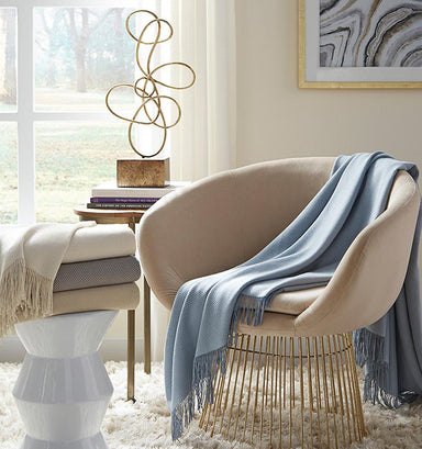 Bristol Throw by Sferra | Fig Linens