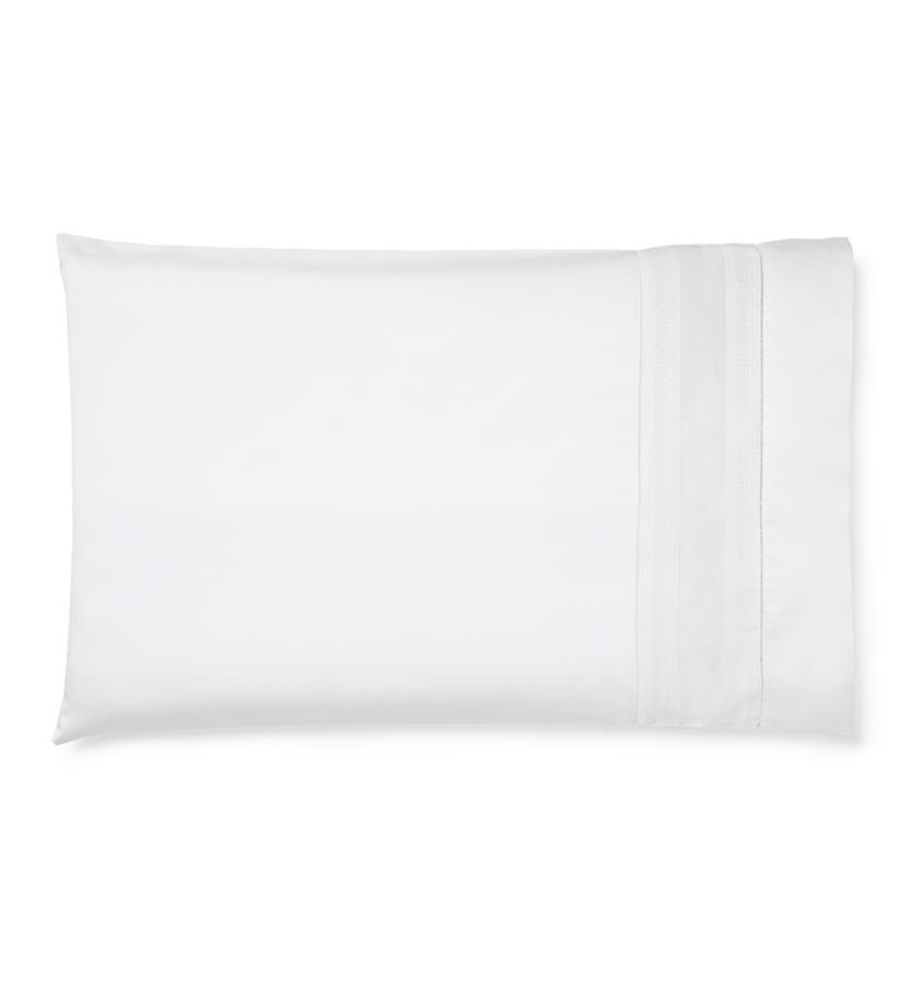 Capri Bedding Collection by Sferra | Fig Linens - White pillowcase