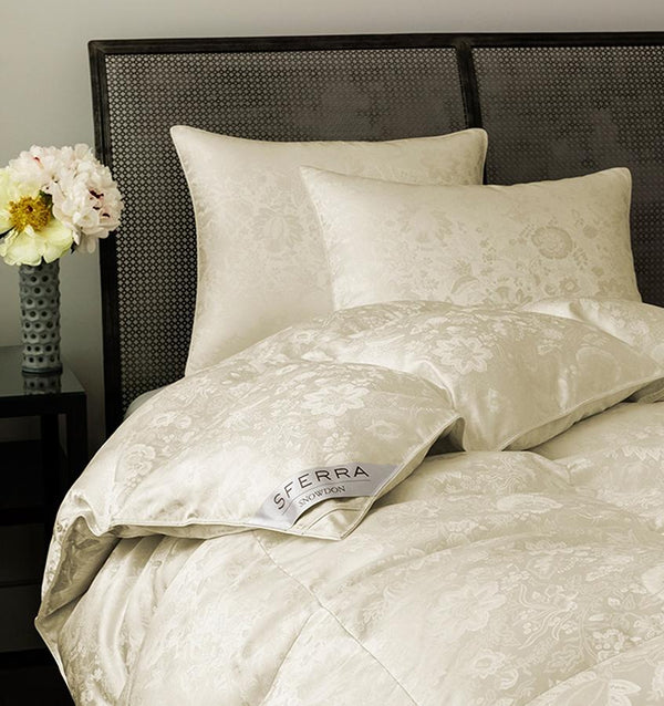 Snowdon Goose Down Comforter by Sferra | Fig Linens and Home