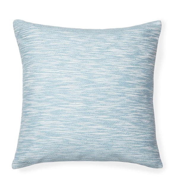 Samma Aquamarine blue accent pillow by Sferra - Decorative pillow - Fig Linens