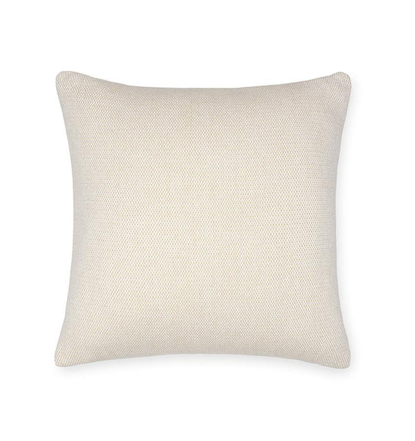 Terzo Sand Accent Throw Pillow by Sferra | Fig Linens - Beige decorative pillow
