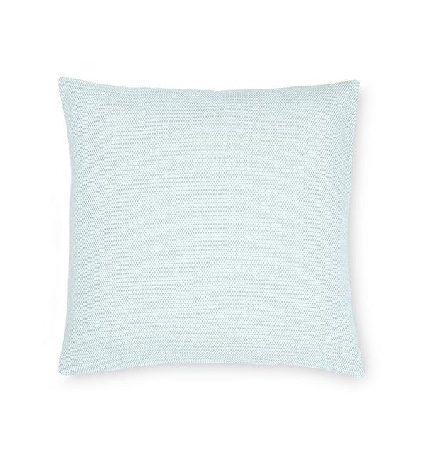 Terzo Poolside Accent Throw Pillow by Sferra | Fig Linens - soft blue decorative pillow