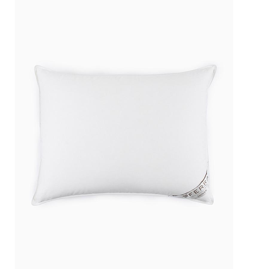 European White Duck Down Pillow - Dover by Sferra - Fig Linens