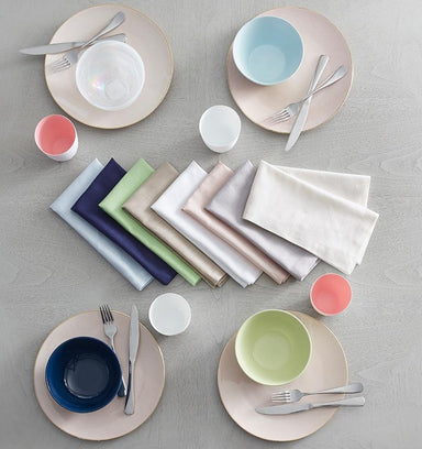Cartlin Kiwi Green Napkins by Sferra | Fig Linens and Home