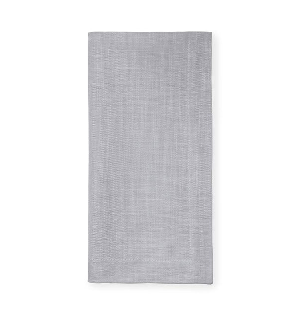 Gray cotton napkins by Sferra | Fig Linens