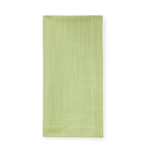 Kiwi green cotton napkins - Cartlin by Sferra - Fig Linens