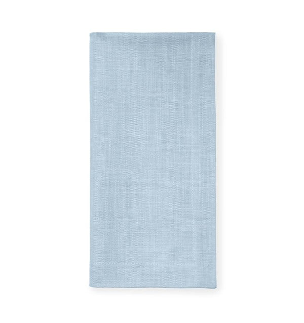 Light blue cotton napkins - Cartlin Sky by Sferra - Fig Linens - Easter napkins