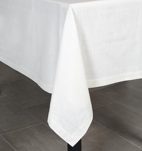 White square tablecloth - Cartlin by Sferra - Fig Linens