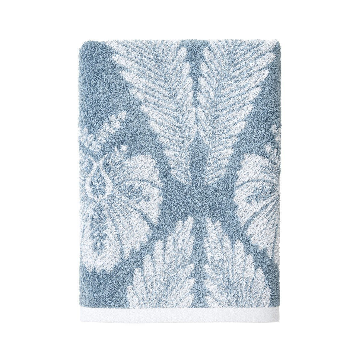 Yves Delorme Palmes Bath Towel Collection | Fig Linens