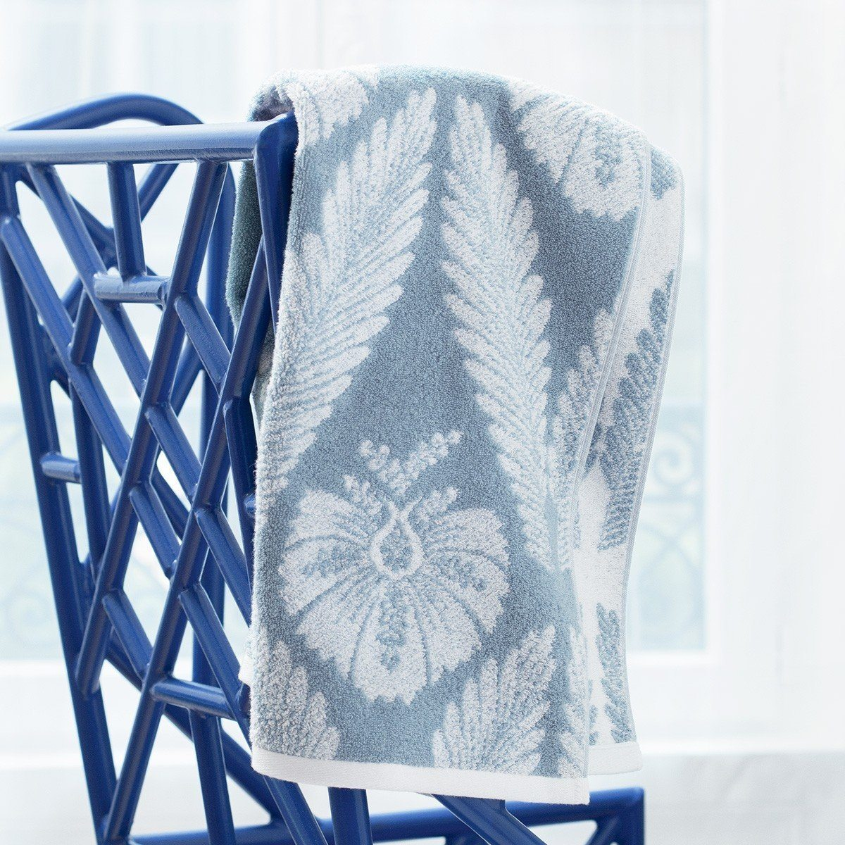 Yves Delorme Palmes Bath Towel Collection | Fig Linens and Home