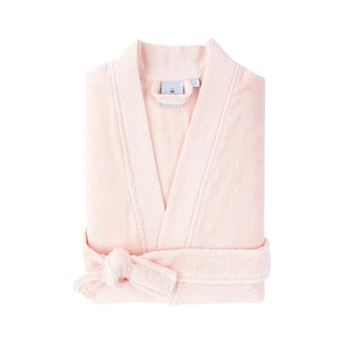 Astrée Kimono Blush Pink Bathrobe by Yves Delorme | Fig Linens