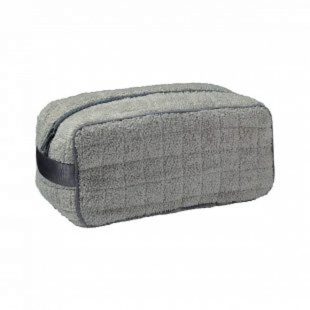 Etoile Platine Gray Men's Toiletry Bag by Yves Delorme | Fig Linens