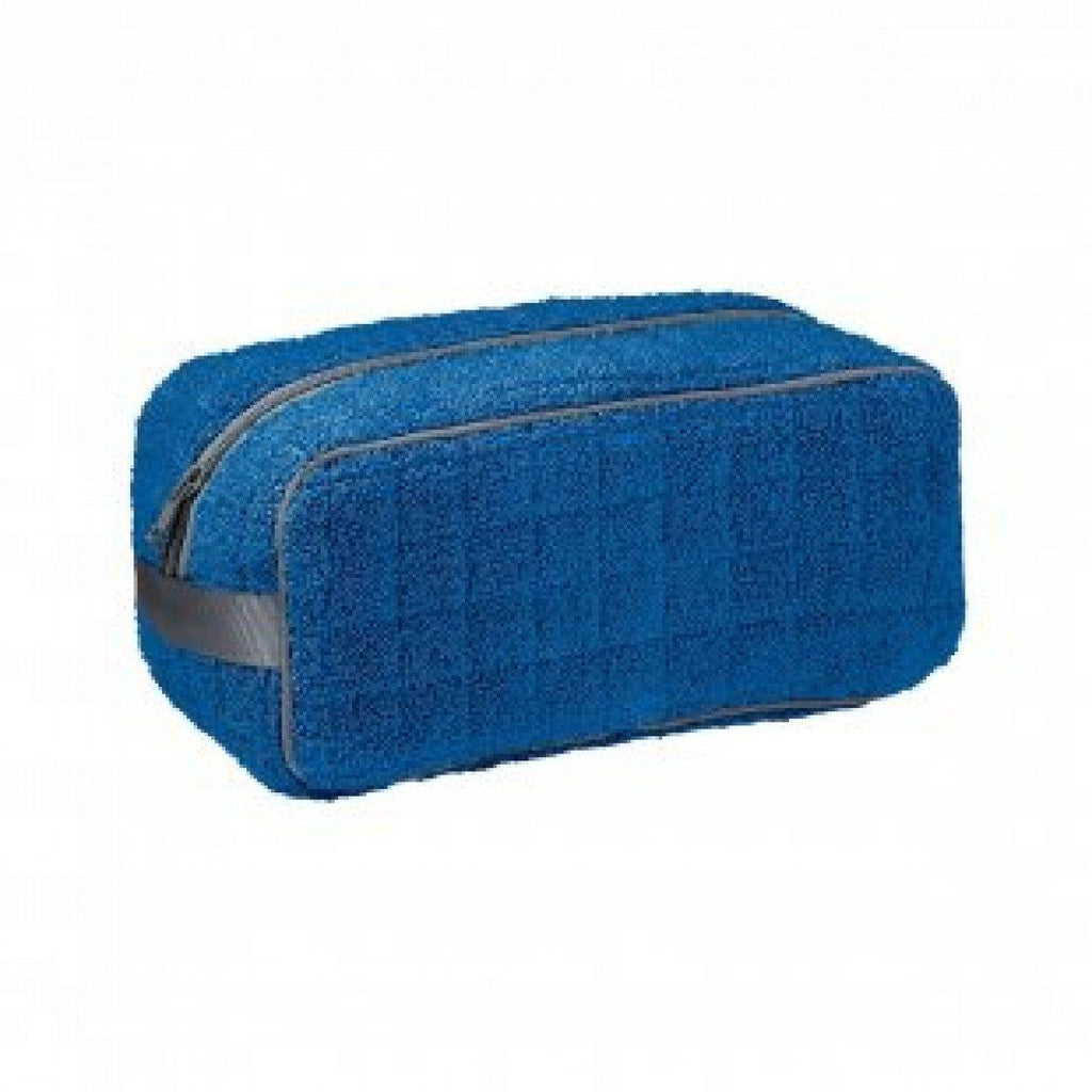Etoile Saphir Blue Men's Toiletry Bag by Yves Delorme | Fig Linens