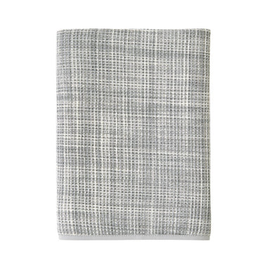 Leo Galet Waffle Weave Towel by Yves Delorme | Fig Linens - gray bath  towel