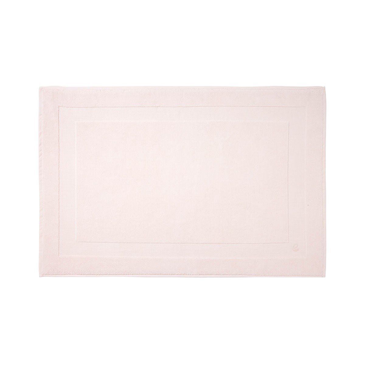 Astree Blush Bath Collection by Yves Delorme | Fig Linens - Light Pink bath linen, bath mat