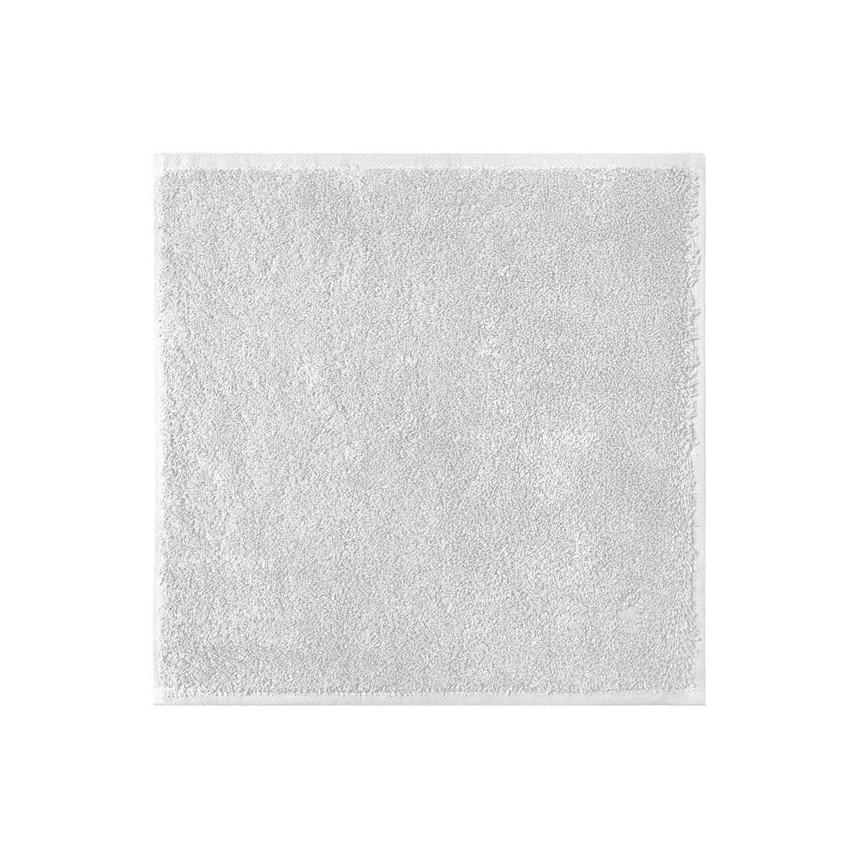 Etoile Silver Bath Collection by Yves Delorme | Fig Linens, Light gray bath linen, washcloth