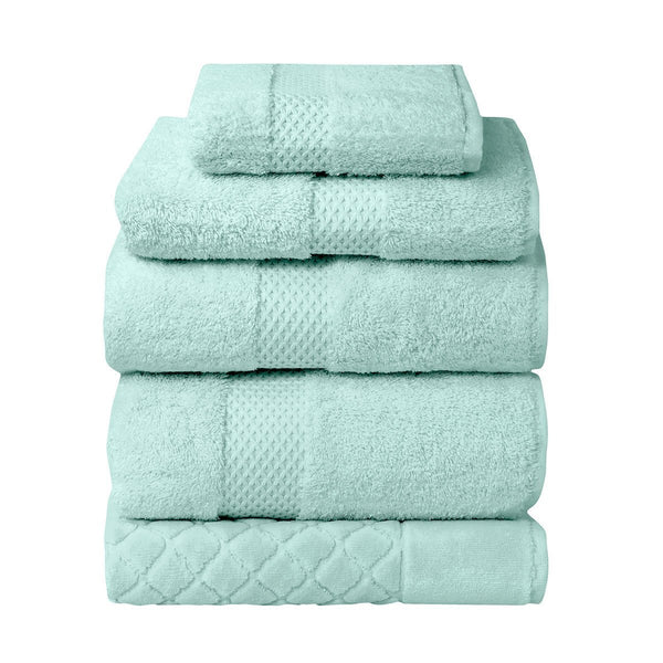 Etoile Celadon Bath Collection by Yves Delorme | Fig Linens - Green Bath Linen