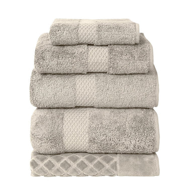 Etoile Pierre Bath Collection by Yves Delorme | Fig Linens, beige bath linens, towels