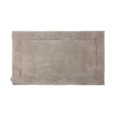 Prestige Pierre Bath Rug by Yves Delorme | Fig Linens - Taupe, cotton, bath mat, bath rug