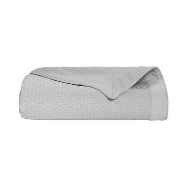 Morphée Platine Gray Coverlet by Yves Delorme | Fig Linens - Gray bedding, bed linen