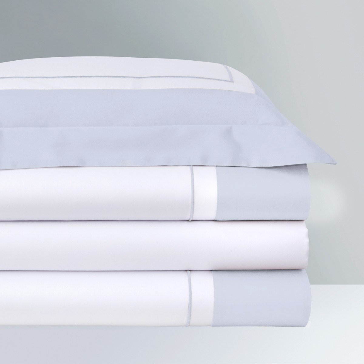 Lutece Opalia Bedding by Yves Delorme | Fig Linens - Duvet cover, sheets, shams