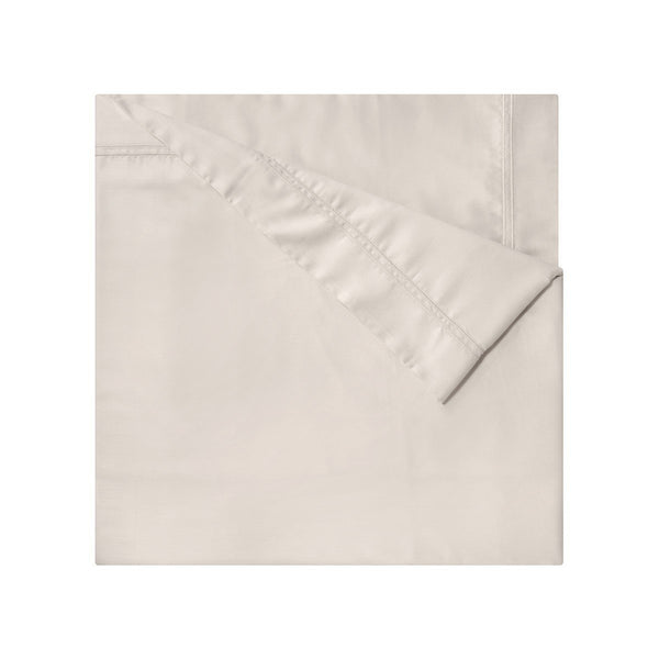 Triomphe Nacre Ivory Bedding by Yves Delorme | Sheets, Quilts, Duvets | Fig Linens - Duvet Cover