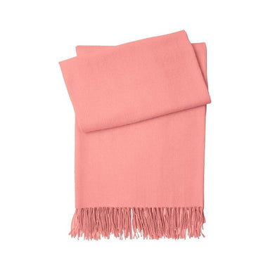 Triomphe Peche Peach Throw Blanket - Yves Delorme at Fig Linens