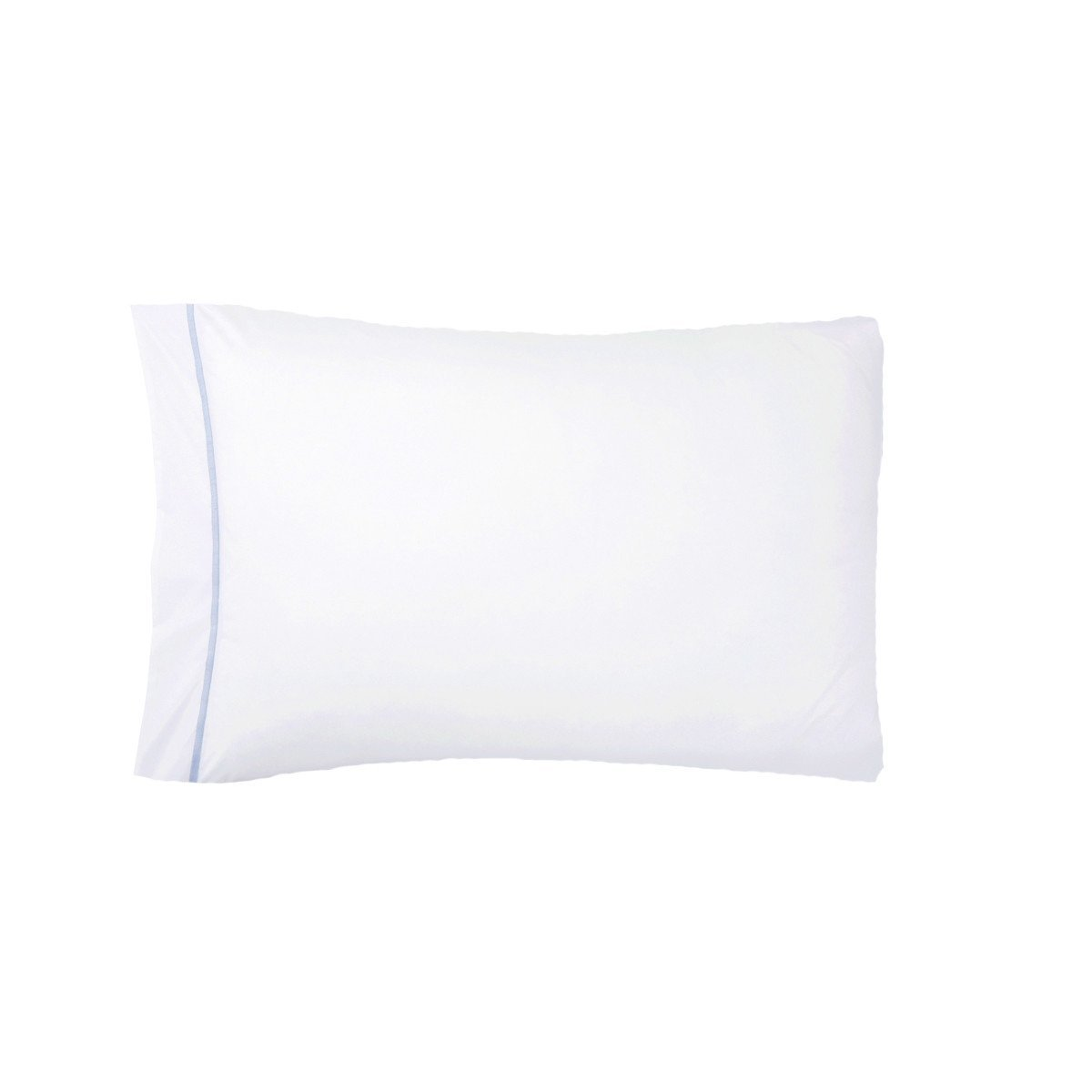 Athena Opalia Bedding Collection by Yves Delorme | Fig Linens - white pillowcase