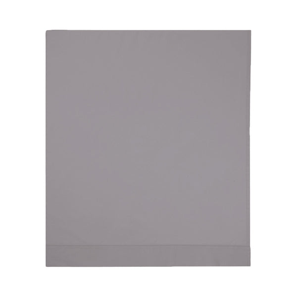Roma Platine Gray Bedding Collection by Yves Delorme | Fig Linens - Gray bed linen, flat sheet