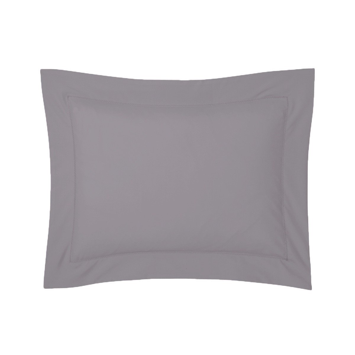 Roma Platine Gray Bedding Collection by Yves Delorme | Fig Linens - Gray bed linen, boudoir sham