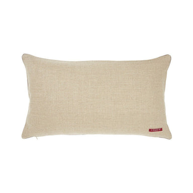 Berlingot Lumbar Decorative Throw Pillows by Iosis Fig Linens Back